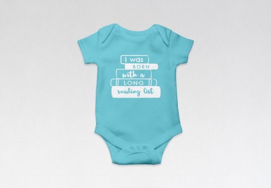 Friends of the Columbus Metropolitan Library store baby's onesie