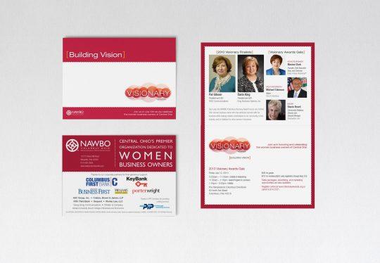 NAWBO Columbus Visionary Awards Gala invitation