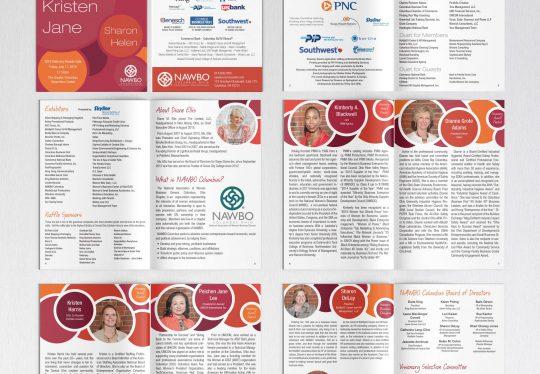 NAWBO Columbus Visionary Awards event program