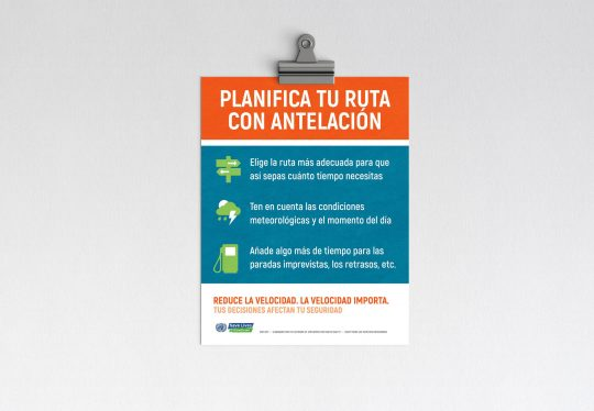 Network of Employers for Traffic Safety poster