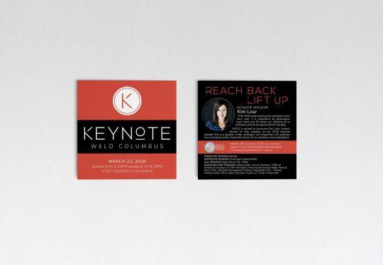 WELD event marketing piece