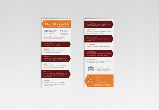 Worley Law marketing pieces